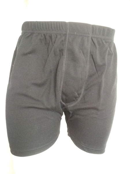 261NFB MENS MERINO WOOL FITTED BOXER BRIEFS