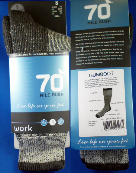 9101 BOOT AND GUMBOOT WOOL SOCK