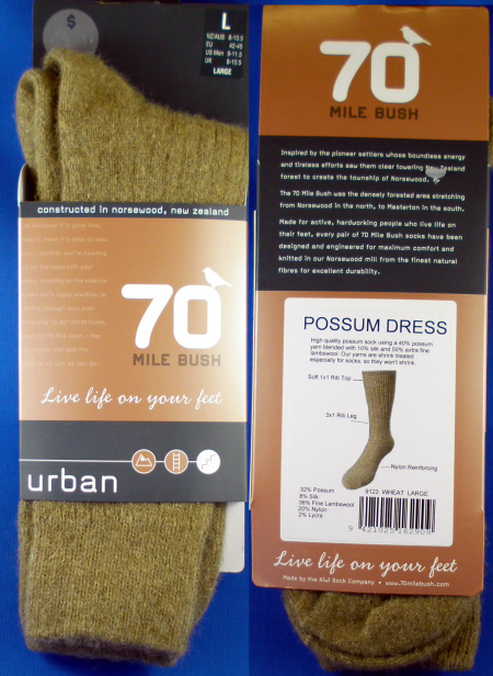 9123 POSSUM DRESS SOCKS