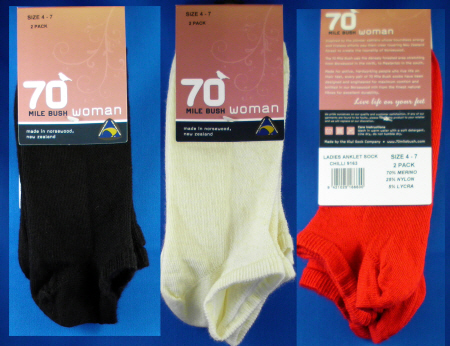 9163 LADIES ANKLET SOCKS PACKET 2