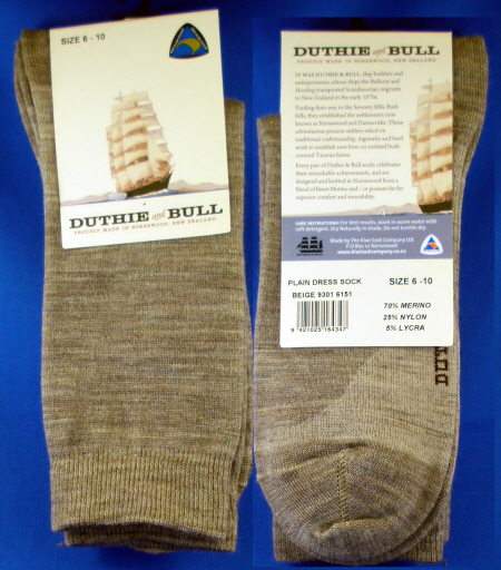 8460-9301 PLAIN MERINO DRESS SOCK