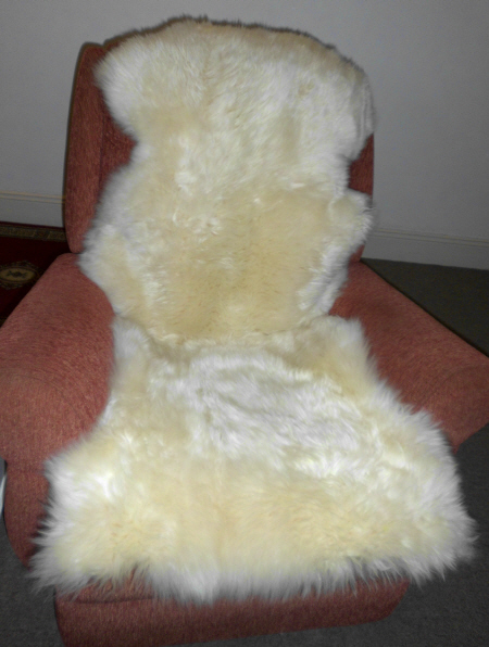 LWWDBL GOLD STAR DOUBLE SHEEPSKIN