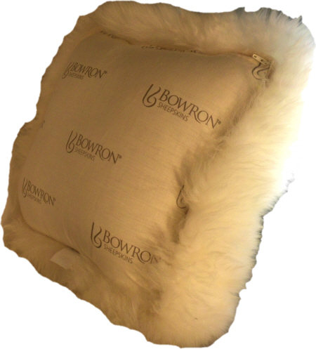MCOLWS35UCB SINGLE SIDED SHEEPSKIN CUSHION