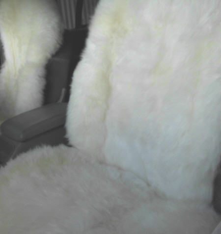 MOCSLWB CAR SEAT COVER SHEEPSKIN