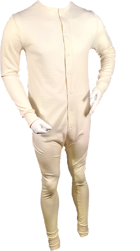 UNION SUIT MERINO WOOL
