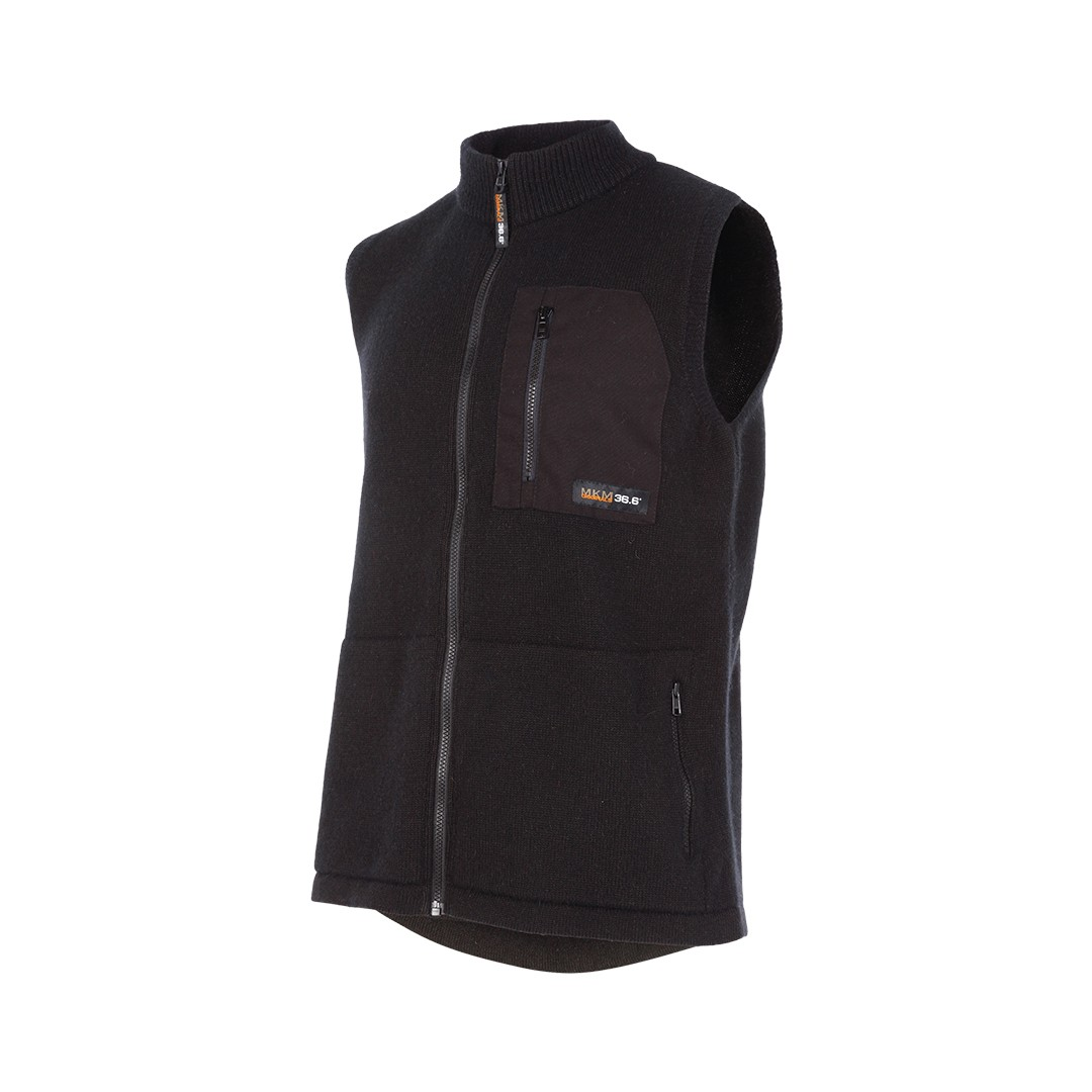 (MS1732) Endurance double layer possum vest (zip up)