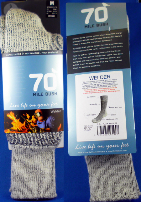9124 NZ WELDER WOOL SOCK