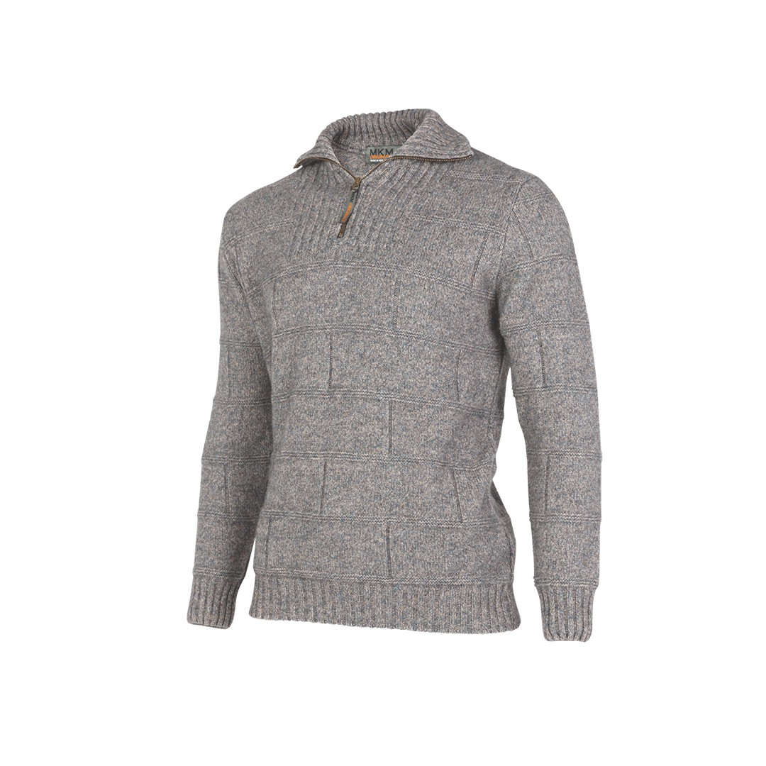 MS1704) Marlborough merino wool and possum Sweater