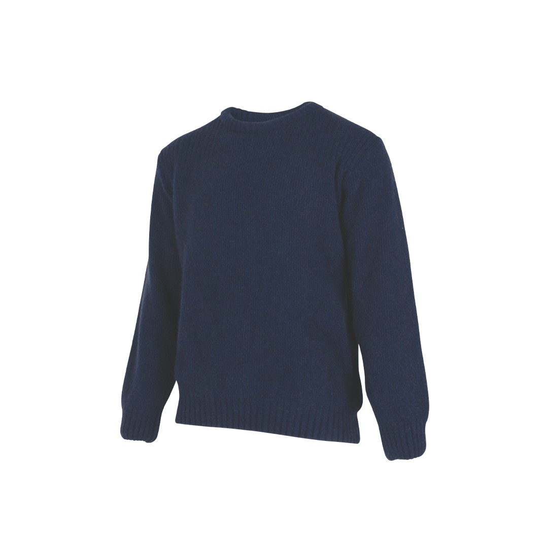 (MS1640) Back Country merino wool and possum Sweater