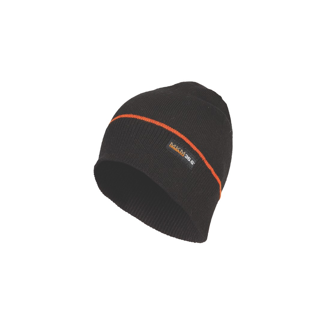 (MX1738) 36.6 Dual Layer lambswool Beanie