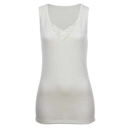 SJV WOMENS LIGHT WEIGHT MERINO WOOL SLEEVELESS